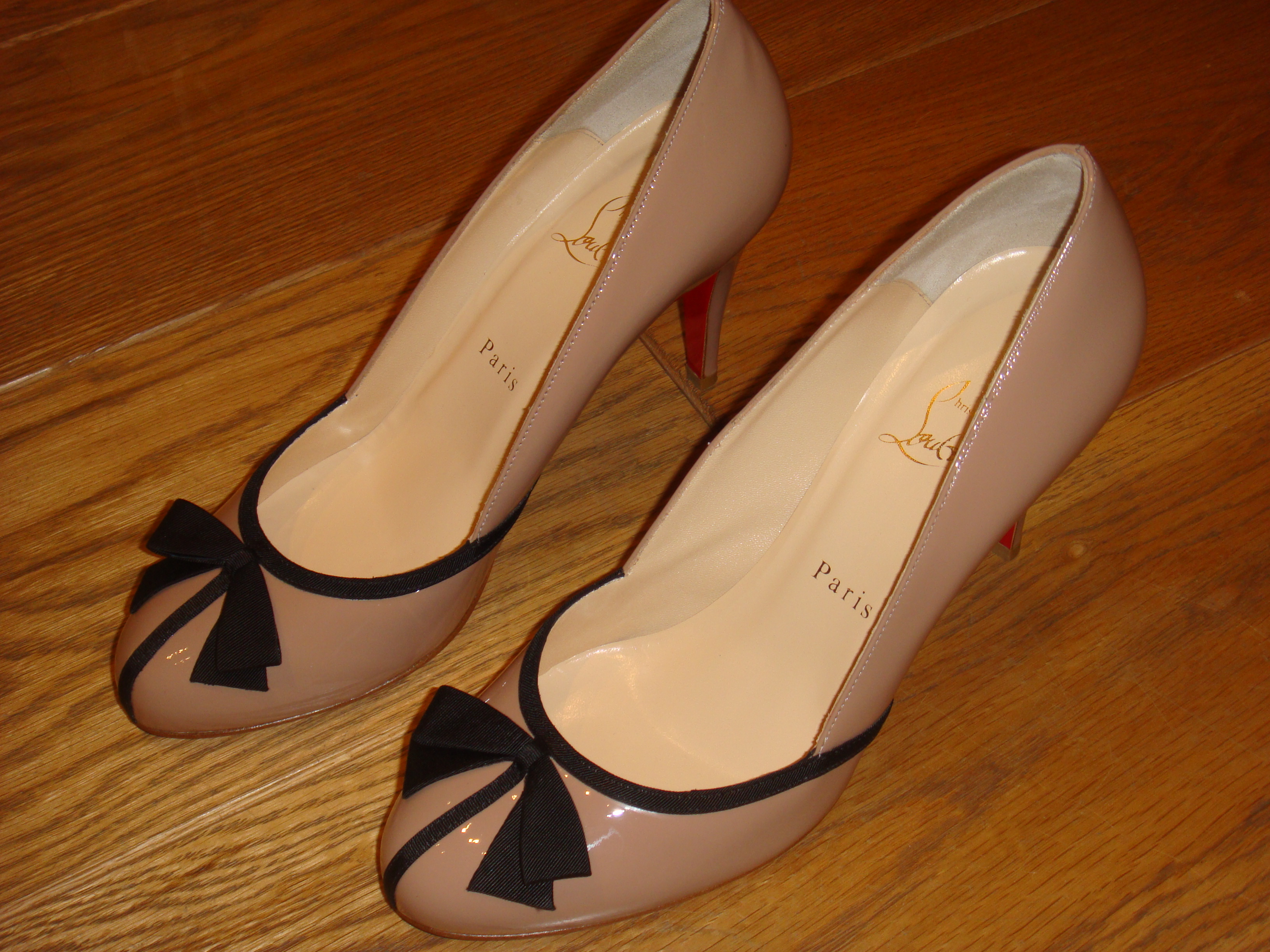 working for christian louboutin