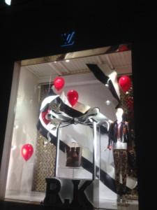 London shop window