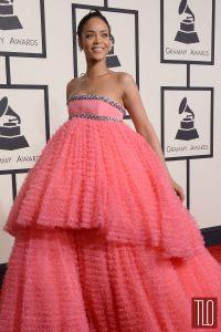 Rihanna-2015-Grammy-Awards-Red-Carpet-Fashion-Giambattista-Valli-Couture-Tom-Lorenzo-Site-TLO-1