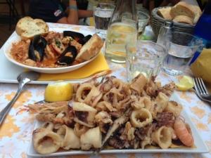 Food at Il Sapero di mare