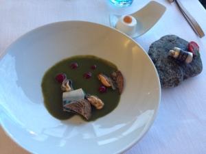 Michelin Star Food in Il Vescavado