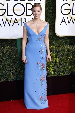 52277432 Celebrities arriving at the 74th Golden Globe Awards at the Beverly Hilton Hotel in Beverly Hills, California on January 8, 2016. Celebrities arriving at the 74th Golden Globe Awards at the Beverly Hilton Hotel in Beverly Hills, California on January 8, 2016. Pictured: Jessica Chastain FameFlynet, Inc - Beverly Hills, CA, USA - +1 (310) 505-9876 RESTRICTIONS APPLY: USA ONLY